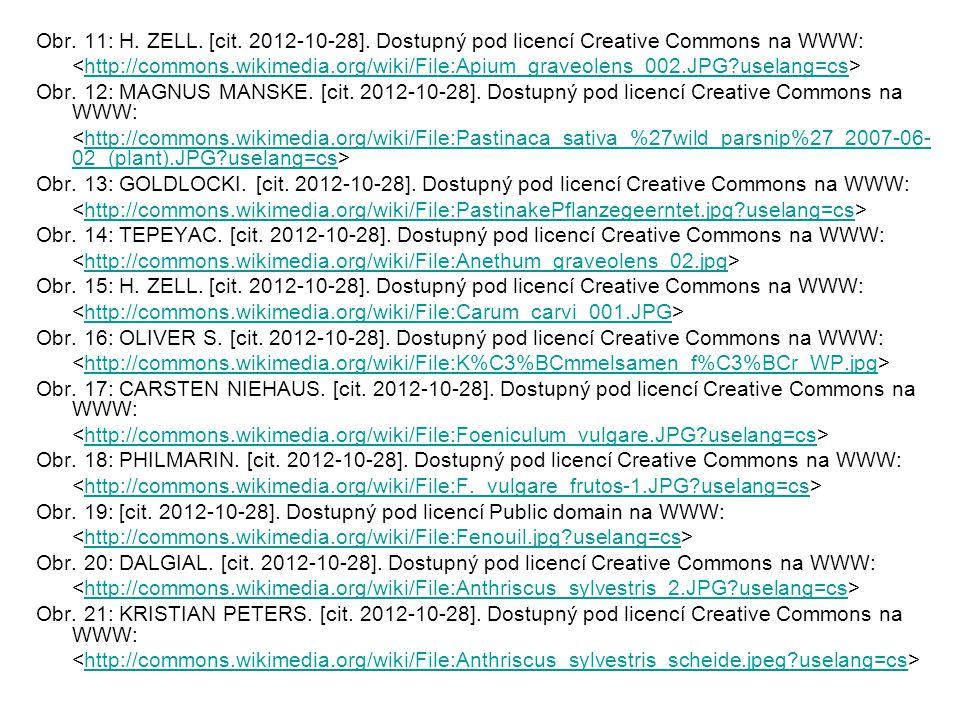 Obr. 11: H. ZELL. [cit. 2012-10-28]. Dostupný pod licencí Creative Commons na WWW: